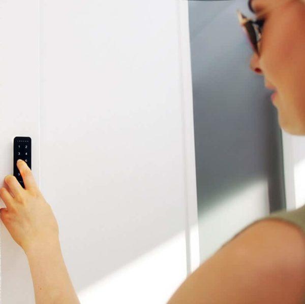 pincode, slot, slim deurslot, keypad, nuki