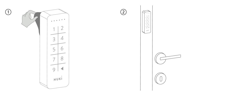 nuki, keypad, pincode